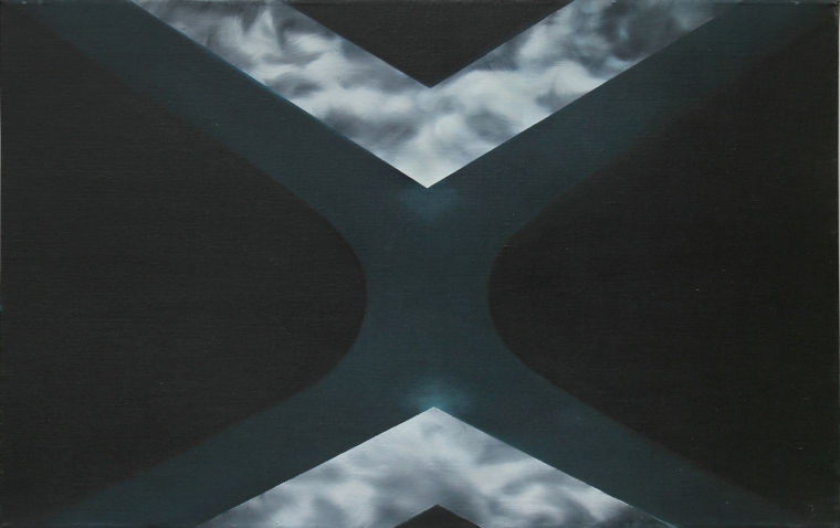 TENSION /oil on canvas; Dimension: 50 x 80 cm; Date: 2012-2013