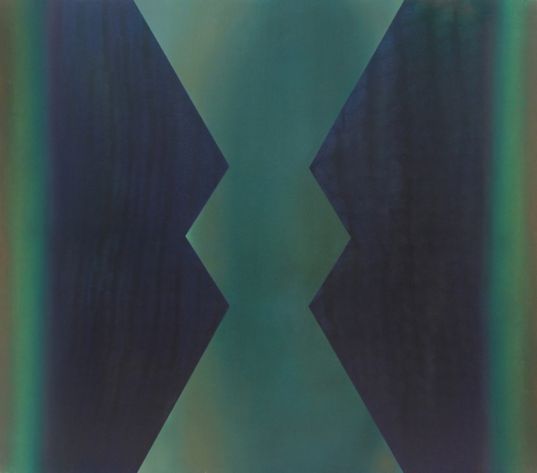TENSION /oil on canvas; Dimension: 140 x 160 cm; Date: 2012-2013