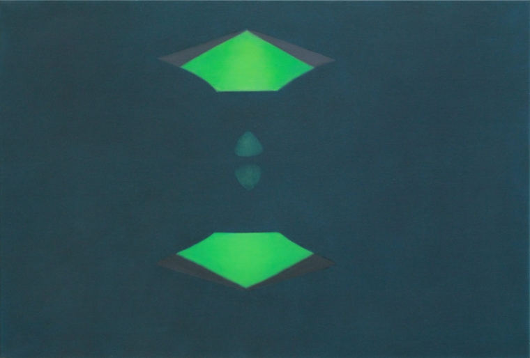 TENSION /oil on canvas; Dimension: 73 x 92 cm; Date: 2012-2013