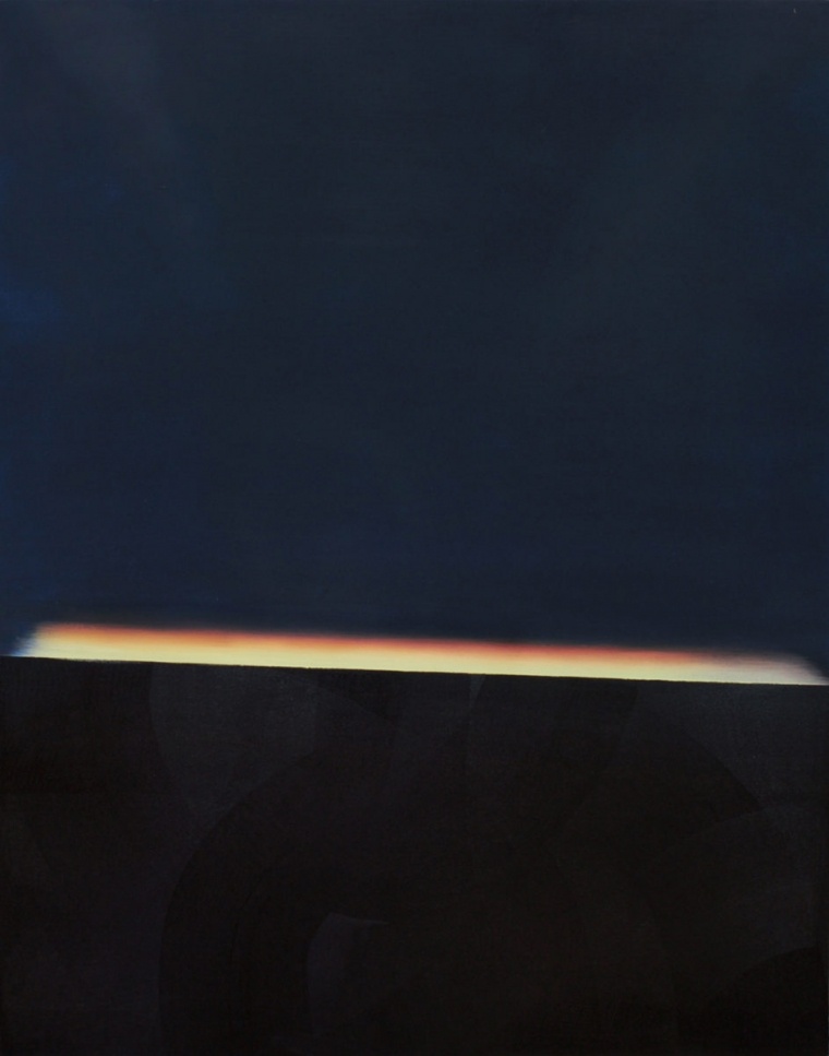 TENSION /oil on canvas; Dimension: 120 x 90 cm; Date: 2012-2013